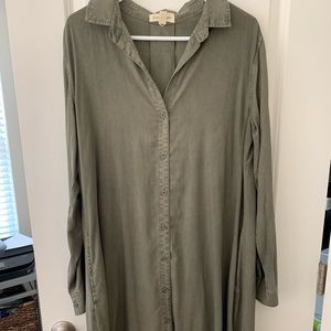Cloth and stone dress (Anthropologie)